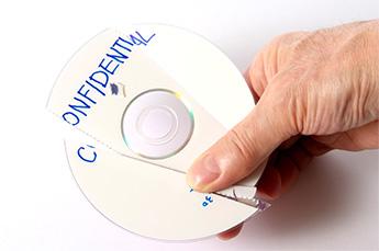 CD destruccion confidencial