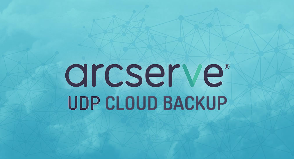 Arcserve UDP cloud backup Valora Data