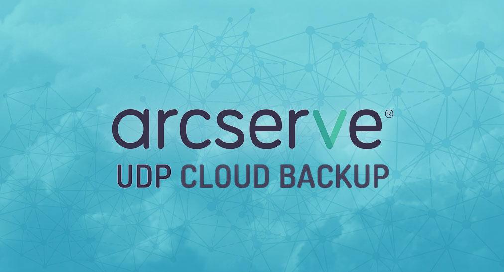 Arcserve UDP cloud backup Valora Data